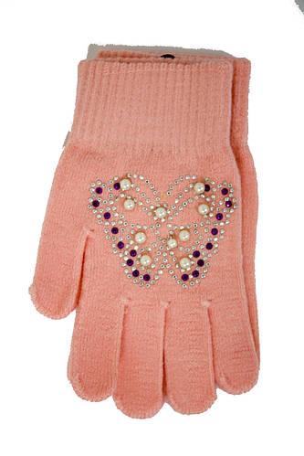 Детские вязаные перчатки