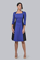 Элегантное платье приталенного силуэта, изготовленное из приятного и качественного материала