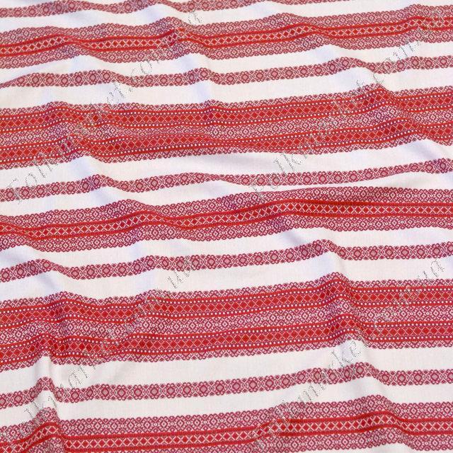 Ткань для штор с украинской вышивкой Ностальгия ТДК-105 1/8