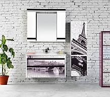 "Комплект мебели для ванной GOLD Ban-Yom ""Viole Print"", 1020х450х530 мм"