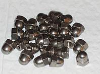 Гайки колпачковые М6 DIN 1587 из стали А2