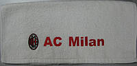 Полотенце лицевое с символикой FC Milan