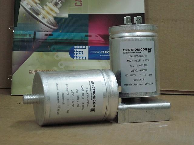 Силовые конденсаторы: как правильно выбрать