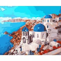 Картины по номерам - Санторини 40*50см