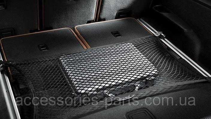 Сетка в багажник напольная Audi Q7 4M 15-2017 Новая Оригинальная