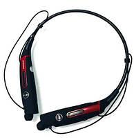 Красные беспроводные спортивные Bluetooth стерео наушники Samsung HBS-730S с микрофоном