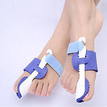 Бандаж фиксатор для пальца ночной от косточки на ноге на большой палец пара