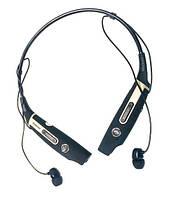 Золотистые беспроводные спортивные Bluetooth стерео наушники Samsung HBS-730S с микрофоном