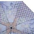Женский зонт автомат ТРИ СЛОНА RE-E-112-2, голубой, антиветер, фото 3