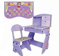 Детская регулируемая стол-парта Bambi W 070