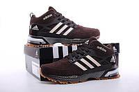 Зимние кроссовки с мехом Adidas Neo Winter Chocolate