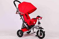 Трехколесный велосипед Azimut T350 Crosser (надувное колесо) красный