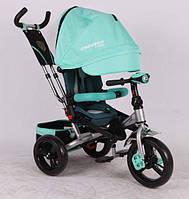 Трехколесный велосипед Azimut Crosser T400 AIR мята