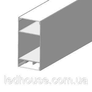 LED профиль ЛСБ 40 для светодиодной ленты Комплект