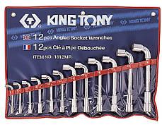 Набор ключей Г-образных KING TONY 1812MR 8-24 мм (12 предметов)