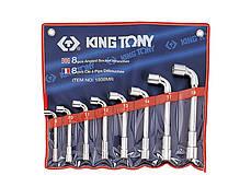 Набор ключей Г-образных KING TONY 1808MR 8-19 мм (8 предметов)