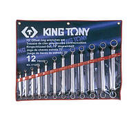 Набор ключей накидных KING TONY 1712MR 6-32мм (12 предметов)