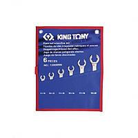 Набор ключей разрезные KING TONY 1306MRN 8-22 мм (6 предметов)