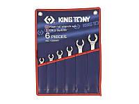 Набор ключей разрезных KING TONY 1306SR дюймовые (6 предметов)