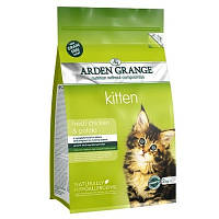 Arden Grange KITTEN 2 кг - корм для котят (курица/картофель)