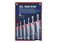 Набор ключей торцевых с карданом KING TONY 1A06MR 6-19мм (6 предметов)