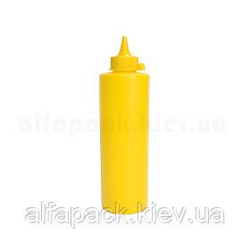 Диспенсер для соуса желтый 350мл