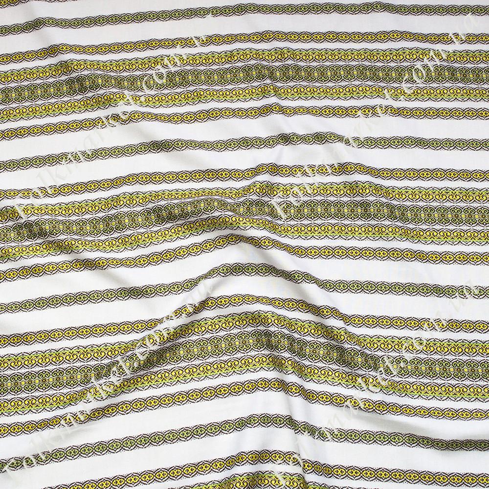 Ткань для скатертей с украинской вышивкой Роксолана ТДК-108 2/8