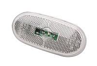 Фонарь боковой LED (габарит) MB Sprinter/Crafter 09- (белый) Rotweiss