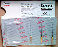 Protaper NEXT X1 Dentsply Maillefer (ПРОТЕЙПЕРЫ NEXT X1:машинные  Майлифер)