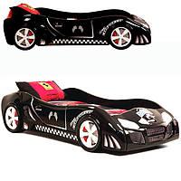"""Детская кровать """"Extra turbo power"""""""" (черный)"""
