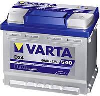 Аккумулятор 6СТ-60 Аз Varta Blue Dynamic (D24)