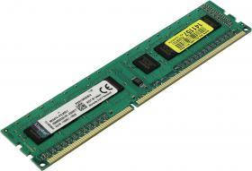Модуль пам'яті DDR3 4GB 1333 MHz Kingston (KVR13N9S8/4 / KVR13N9S8/4-SP) 1333 MHz, PC3-10600, CL9