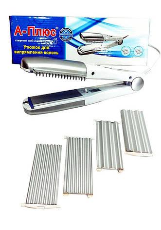 Утюжок для выпрямления волос A-ПЛЮС 1533, фото 2