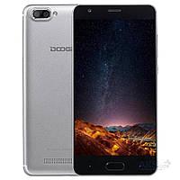 Смартфон ORIGINAL Doogee X20 Silver (4Х1.5Ghz; 2Gb/16Gb; 5+5МР/2МР; 2850 mAh)