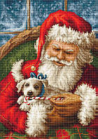 """Набор для вышивки крестом """"Дед Мороз"""""""