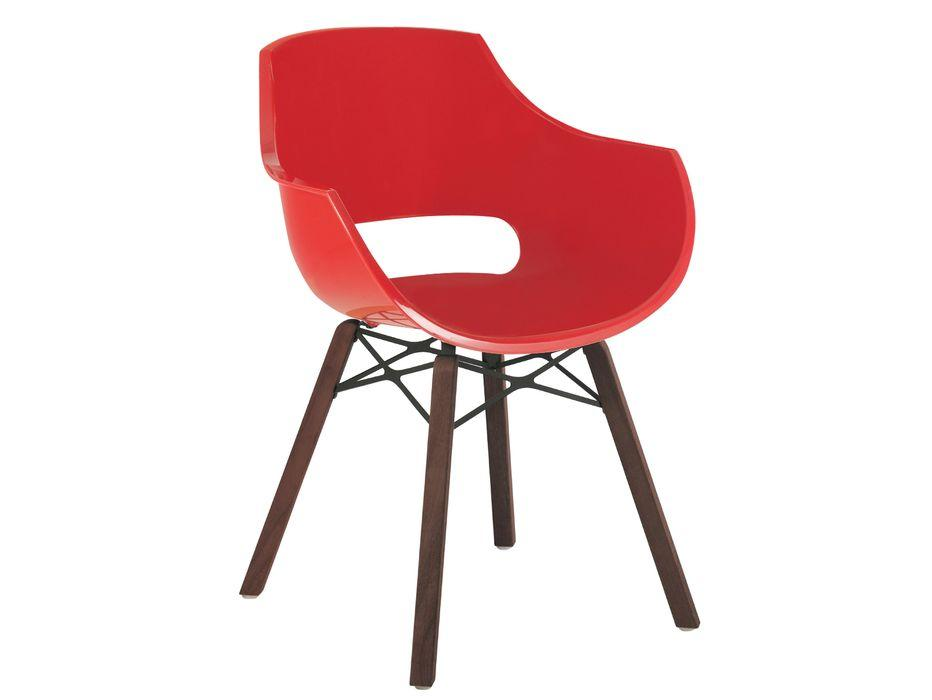 Кресло Papatya Opal Wox Iroko, ножки дерево Iroko (глянец) - Мебель Вашего Комфорта в Киеве