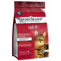 Arden Grange ADULT CAT Сhicken & Potato 2 кг - корм для кошек (курица/картофель)