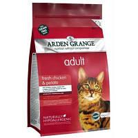 Arden Grange ADULT CAT Сhicken & Potato 8 кг - корм для кошек (курица/картофель)