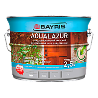 Быстросохнущая защита древесины Aqualazur 2.5л орех