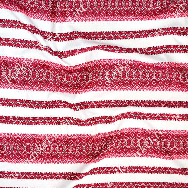 Ткань с украинской вышивкой Роксолана