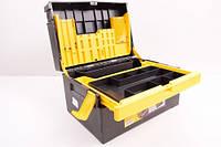 Сталь 1-1601 Ящик для инструментов раскладной с органайзером