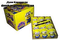 Шоколадное яйцо пластиковое Toy Eggs Миньоны 24 шт, 15 г