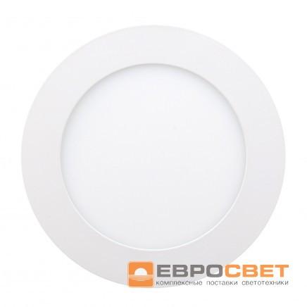 Светильник  LED-R-150-9 4200К/6400K (150mm) круг, встр.