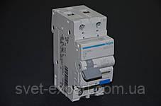 Дифференциальный автомат Hager AС966J 1P+N 6kA C-16 10mA A, фото 2