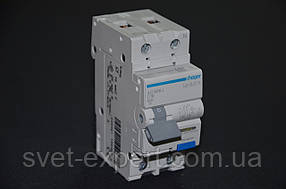 Дифференциальный автомат Hager AD956J 1P+N 6kA С - 6А 30mA A