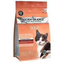 Arden Grange ADULT CAT Salmon & Potato 2 кг - корм для кошек (лосось/картофель)