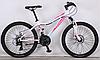 Подростковый велосипед для девочек Crosser Sweet 24