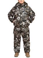 "Зимний костюм из непромокаемой ткани ""Paintball"" до -30℃  (короткая куртка)"