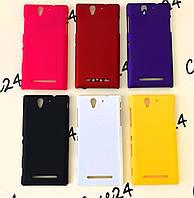 Пластиковый чехол Alisa для Sony Xperia C3 D2502 (6 цветов), фото 1