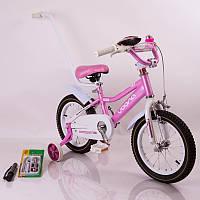 Велосипед двухколесный Voona N-100 Pink  (14 дюймов)